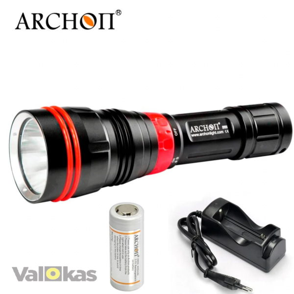 Archon Lights WE07-W diving torch