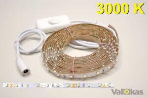 LED nauhasetti 3000 kelvin