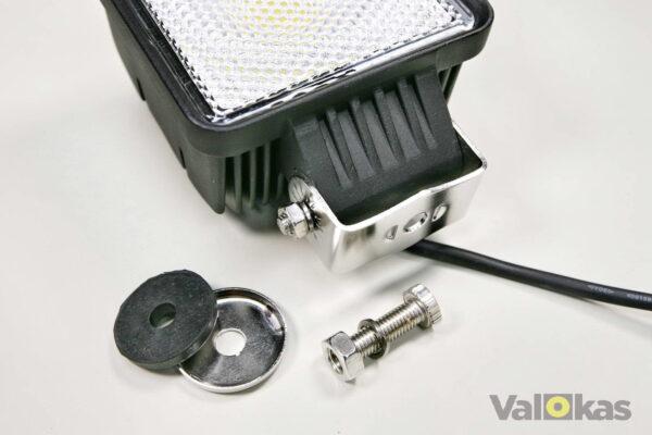 Tehokas leveäkeilainen LED työvalo