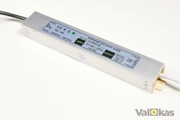 24 voltn jännitelähde 60W vesitiivis
