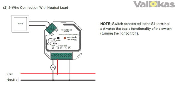 in-wall switch bypass